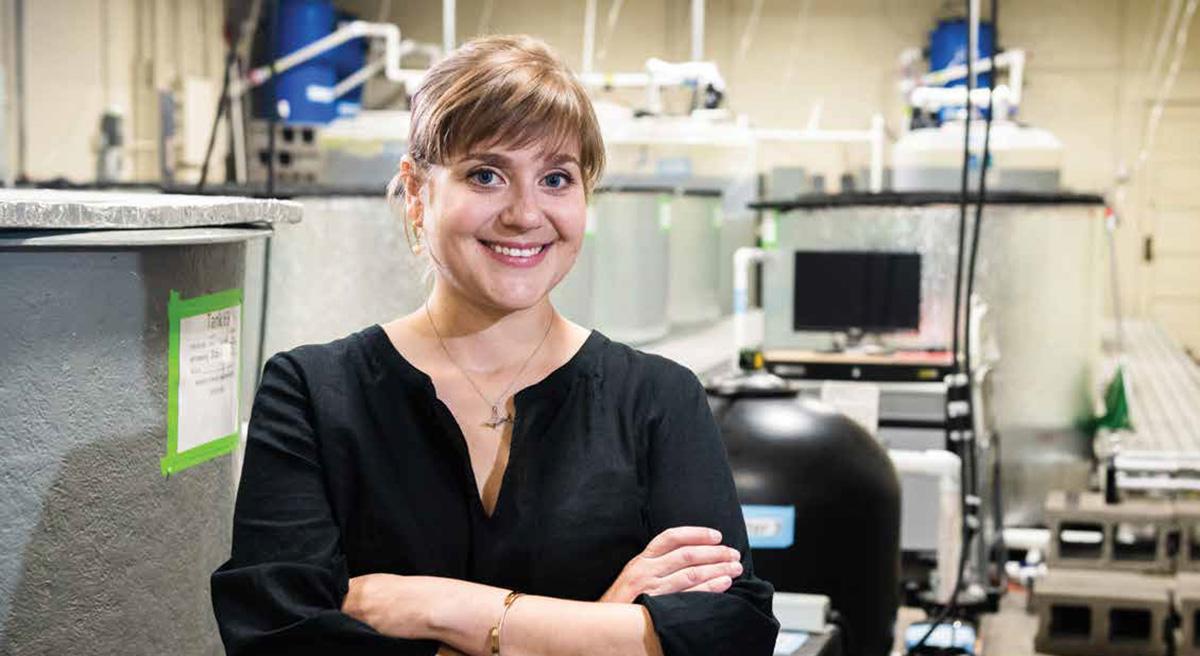 Jamilynn Polettto in her lab